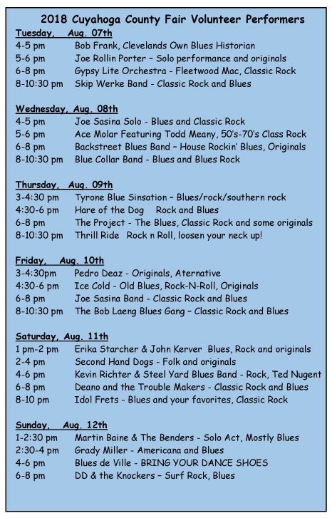 2018 Fair AD Post and schedule1